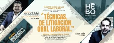 Técnicas de Litigación Oral Laboral