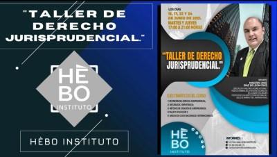 TALLER DE DERECHO JURISPRUDENCIAL