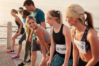 empezar a correr con amigos
