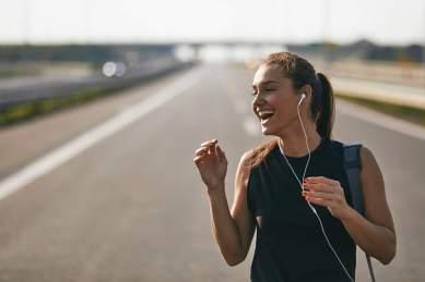 empezar a correr feliz