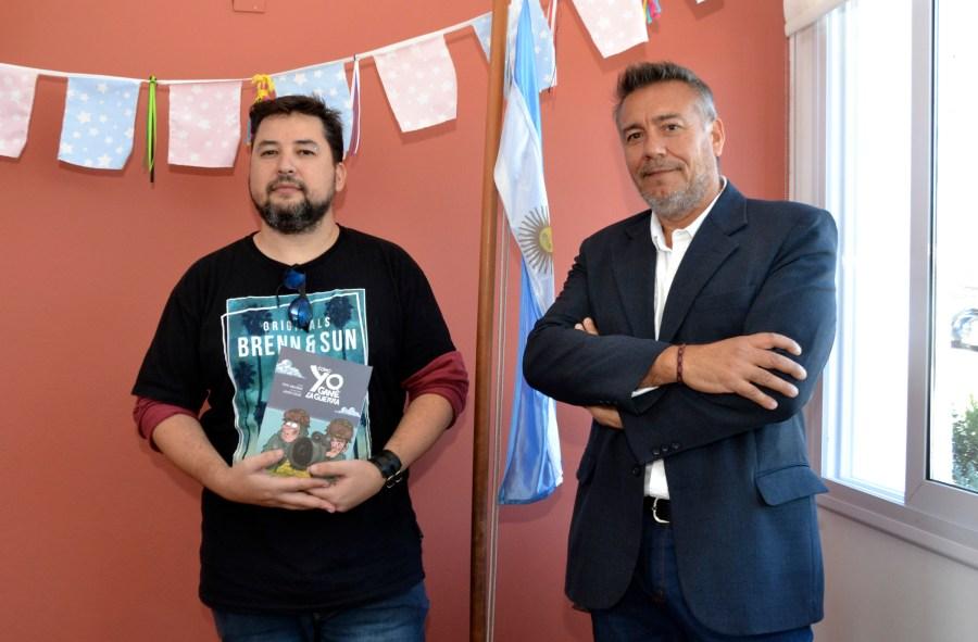 Javier Solar (izquierda) y Pepe Angonoa (derecha)
