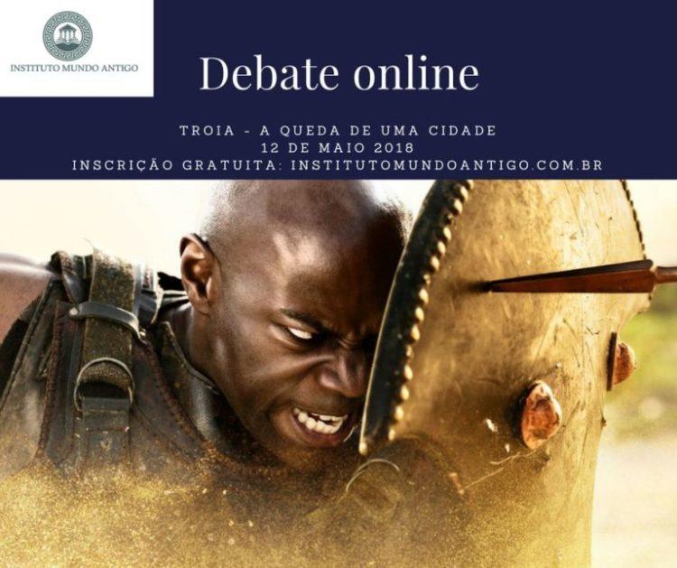 Debate Online, gratuito, 12 de maio às 16h.