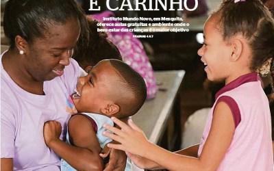 Instituto Mundo Novo é destaque no Jornal Extra Baixada