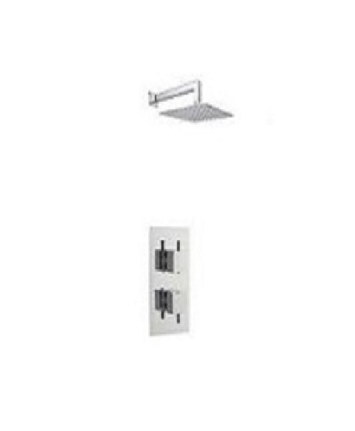 Gallini Twin Square Shower Pack 1