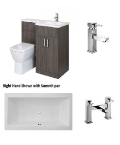 Frontline Aquatrend Petit Bathroom Suite