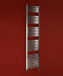 Phoenix Rochell Curved Heated Towel Rail