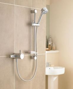 Mira Select EV Thermostatic shower & Flex Kit2