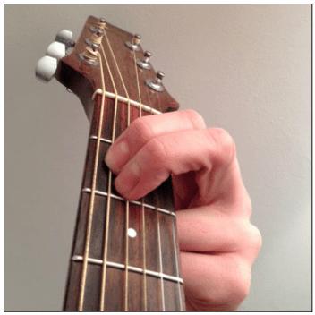 F# (f sharp) chord