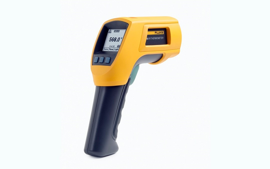 Non-contact infrared thermometer monitoring of body temperature