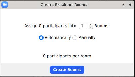 screenshot of breakout menu