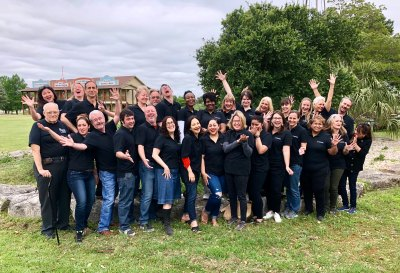 Group of participants at the 2018 Great Teaching Retreat