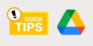 google drive tips