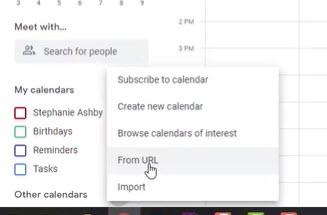google calendar add from url