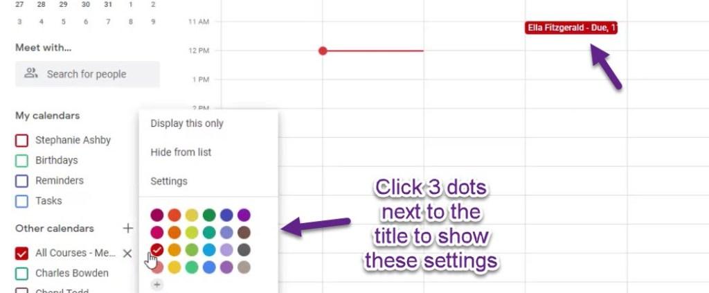 google calendar color settings2