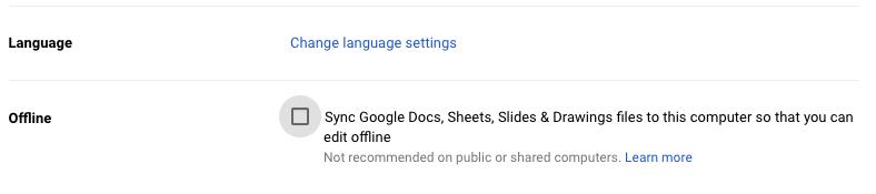 How to Edit Google Docs, Sheets, and Slides Offline | Instructional