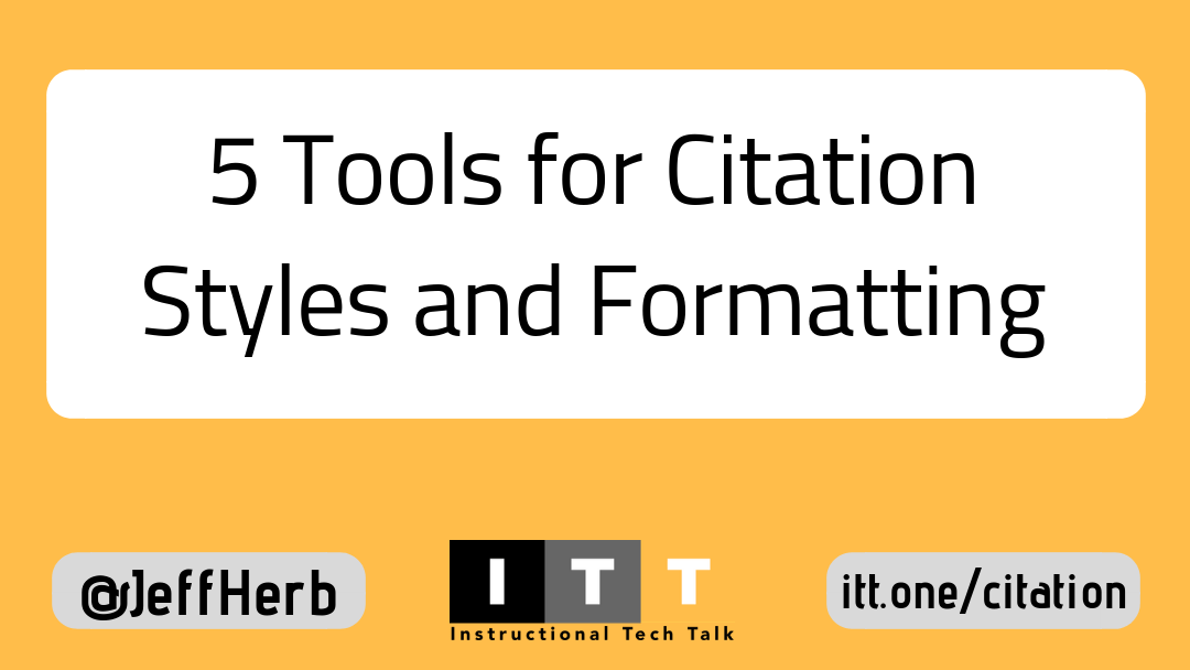 5 Tools For Citation Styles And Formats To Use In College