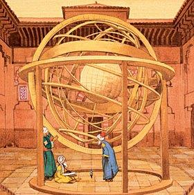 abbas ibn firnas sphère armiliaire