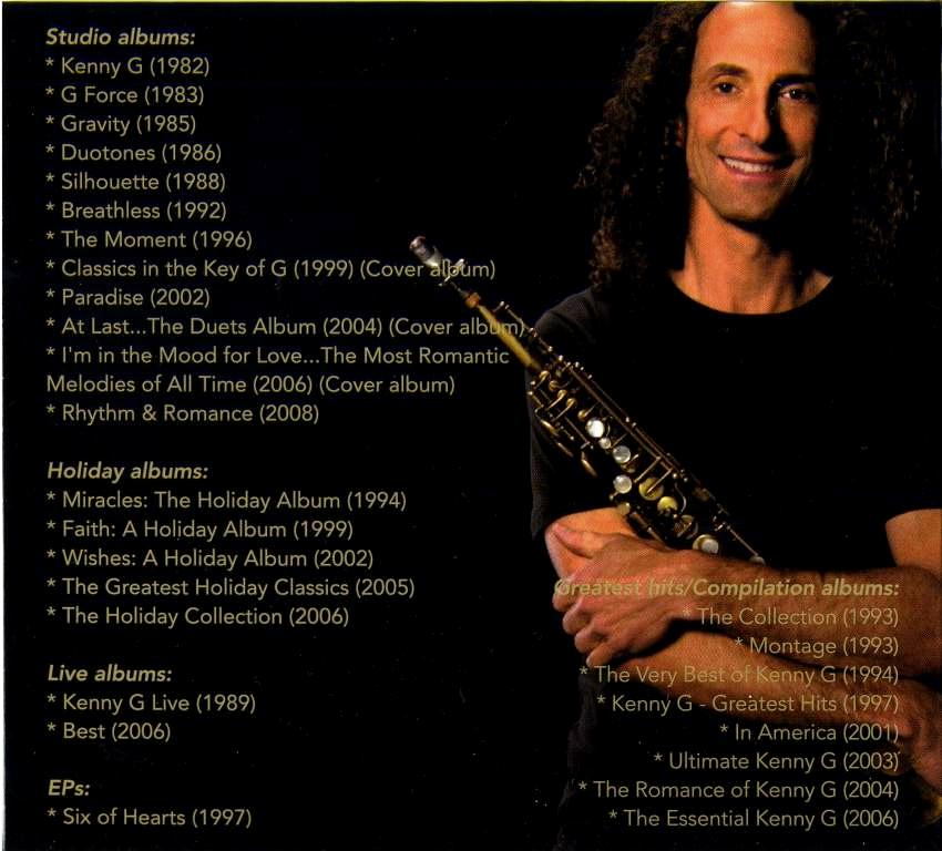 Kenny G Greatest Hits 2009