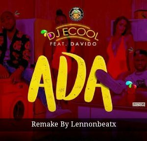 DJ Ecool  - Ada Ft Davido  (Instrumental)