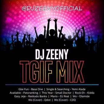 dj zeeny mixtape 2018