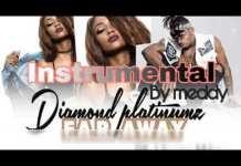 Diamond Platnumz ft Vanessa Mdee Far Away Instrumental