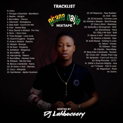 Download Ghana vs Naija Mix 2018 (By Dj Lahboceery) 1