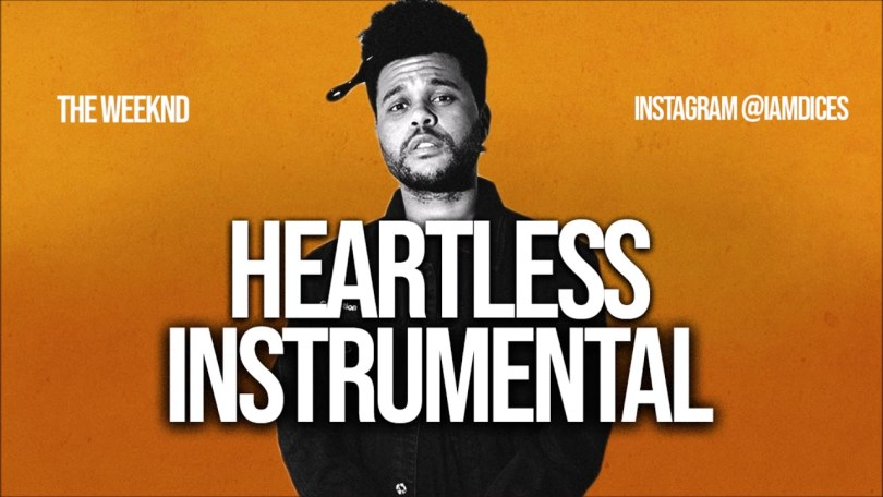 The Weeknd Heartless Instrumental Prod. by Dices