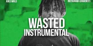 juice wrld wasted instrumental