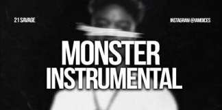 21 savage monster instrumental ft childish gambino