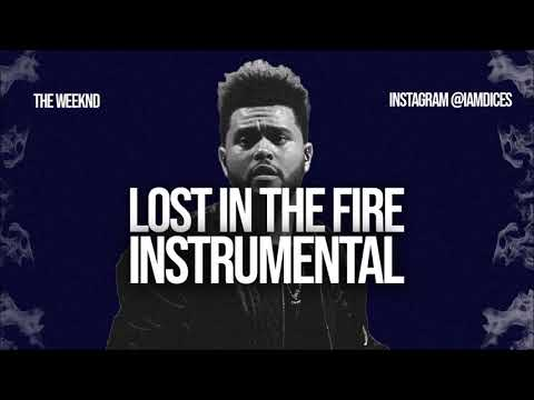 The Weeknd Lost In The Fire Instrumental