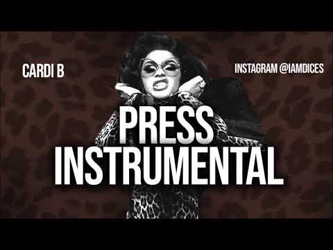 Cardi B Press Instrumental Instrumentalstv