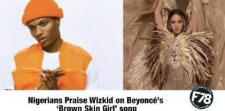 Beyonce ft Wizkid Brown Skin Girls Instrumental
