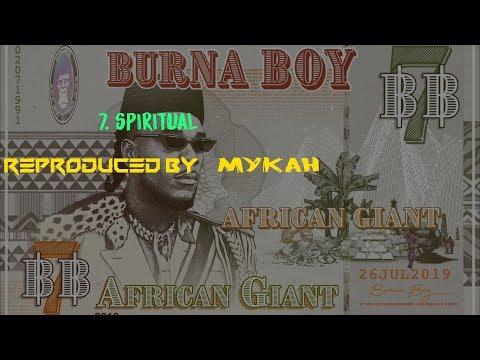 Burna Boy Spiritual Instrumental