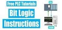 PLC Programming Examples | Basic of Bit Logic Instructions