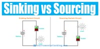 2 Important Factors about Sinking and Sourcing Circuits?