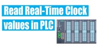Read Real Time Clock value in Siemens PLC