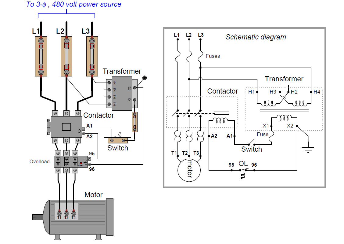 Instrumentation And Control Wiring Diagram