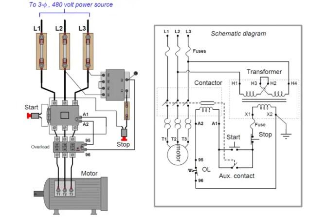 motor control circuit wiring  instrumentation tools