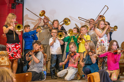 Instrumentalunterricht - Instrumentenkarussell Berlin