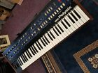 Korg Polysix Vintage Synthesizer Very Rare Has Had Battery Leak Makes Sound