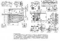 Menggambar mesin logging, yang prinsip operasinya mirip dengan perangkat ini