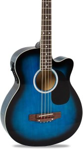 Best Choice Products 22-Fret Full-Size Acoustic-Electric Bass Guitar