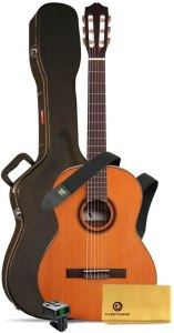 Cordoba C3M Classical Guitar bundle with case, tuner, cloth and strap