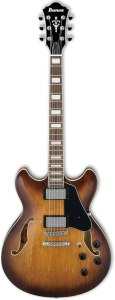 Ibanez Artcore AS73 Semi-Hollow Electric Guitar Tobacco Brown