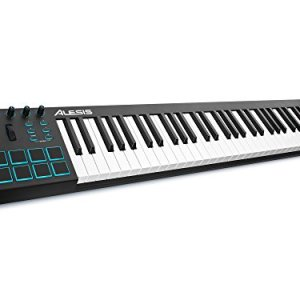 Alesis V61 | 61 Key USB MIDI Keyboard Controller with 8 Backlit Pads