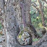 Imperial Royall Trifecta Engraved Tricone Cutaway Brass Body Resonator Guitar 3