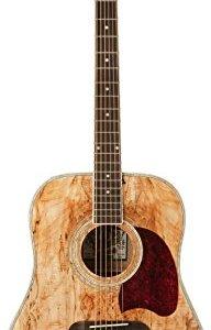 Oscar Schmidt Acoustic Guitar - Spalted Maple