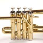 Classic Cantabile PT-180 Piccolo Trumpet Brass Tuned to B 1