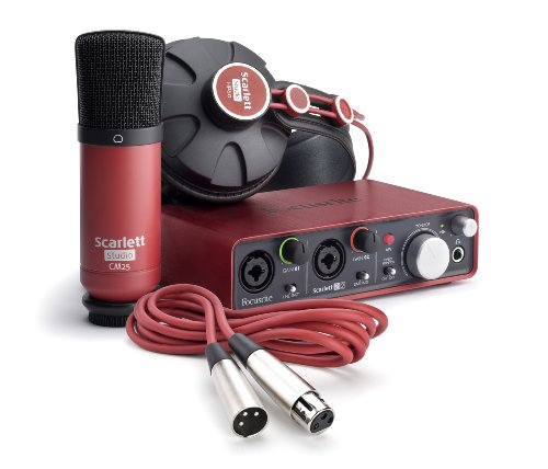 Focusrite Scarlett 2i2 Studio (1st GENERATION) Audio Interface