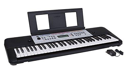 Yamaha 61-Key Portable Keyboard With Power Adapter